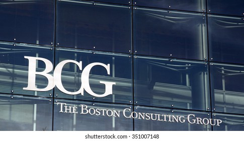 Amsterdam, Netherlands-december 13, 2015: The Boston Consulting Group BCG is a global consulting firm, active in the field of business strategy.
