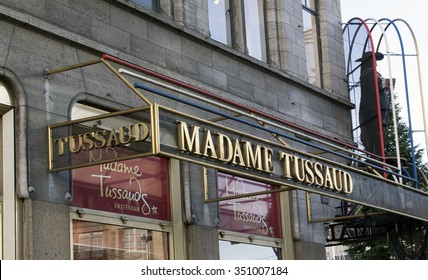 Amsterdam, Netherlands-december 13, 2015:Madame Tussaud Amsterdam famous waxwork museum with statues