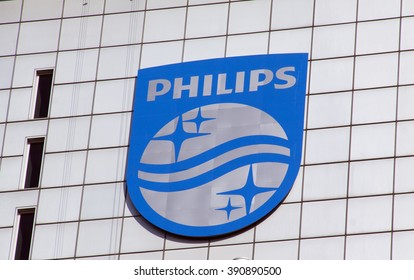 Amsterdam, Netherlands-march 13, 2016: Royal Philips is a Dutch electronics company.