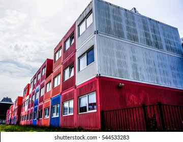 Amsterdam Shipping Container Living