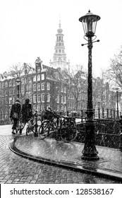 Amsterdam Street Lamp