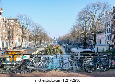 Amsterdam streets, the Netherlands