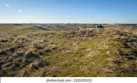 The ' Amsterdamse waterleidingduinen ' is a dune area between Zandvoort (Noord-Holland) and the Langevelderslag in Noordwijk (Zuid-Holland). The Netherlands