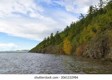 Amur river valley. Khabarovsk Krai, far East, Russia.