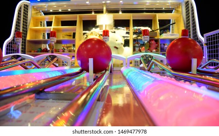 Bowling Machine Stock Photos, Images & Photography