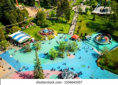 amusement Park top view