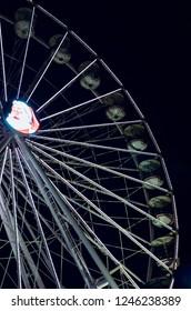 Amusement park wheel in Oslo