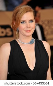 Amy Adams at the 23rd Annual Screen Actors Guild Awards held at the Shrine Expo Hall in Los Angeles, USA on January 29, 2017.