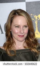 Amy Ryan at the 25th Film Independent Spirit Awards, Nokia Theatre L.A. Live, Los Angeles, CA. 03-06-10
