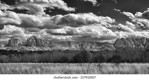 """An Ansel Adams inspired View of Sedona"""