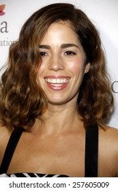 Ana Ortiz at the Eva Longoria Foundation Dinner held at the Beso in Los Angeles on October 9, 2014 in Los Angeles, California.