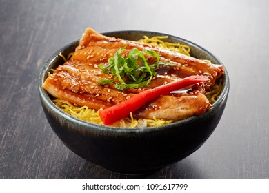 Anago-don(bowl of rice topped with conger eel)