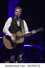 ANAHEIM, CA - JUNE 20: Kenny Loggins accomplishes a very soulful performance at The Grove on June 20, 2012 in Anaheim, California.