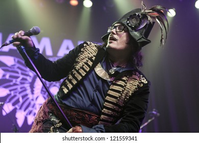 ANAHEIM, CA - OCT 20: Adam Ant performs at The Grove on October 20, 2012 in Anaheim, California.