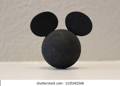 Anaheim, CA USA July 14 2018. Mickey Mouse Antenna Topper