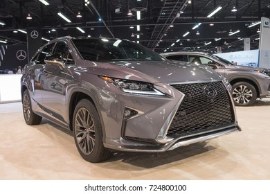 Anaheim - USA - September 28, 2017: Lexus RX 350 on display at the Orange County International Auto Show.
