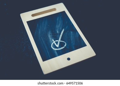 analog blackboard tablet