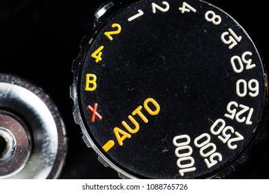 Analog camera dials