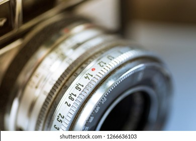 Analog lens on a camera