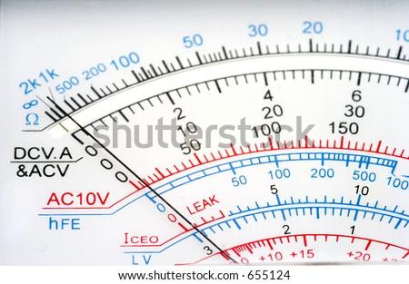 Analog Multimeter Stock Photo Edit Now 655124 Shutterstock