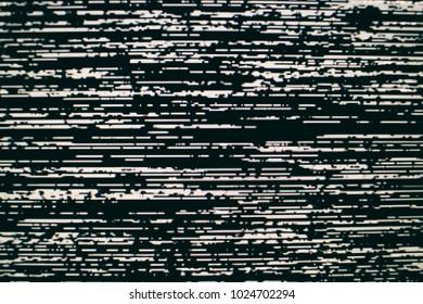 Analog Static Screen Background