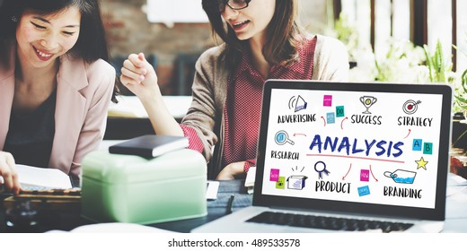 Analysis Business Goal Investment Plan Concept