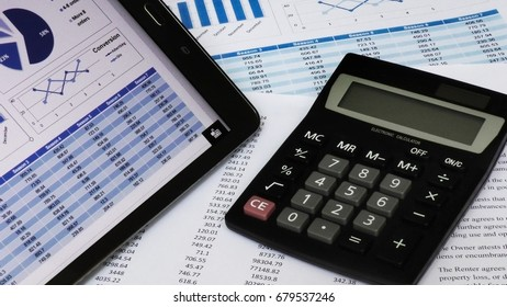 Analysis of statistics. Accounting process. Sales conversion calculation.