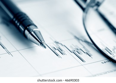 Analysis of stock market reports.