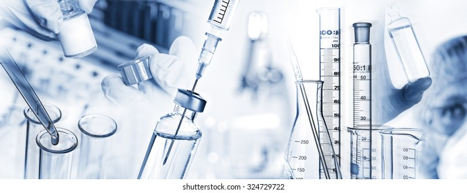 Analysis system, syringe, microscope and other laboratory utensils.