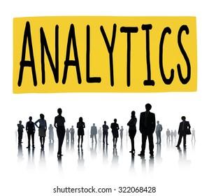 Analytics Analysis Data Information Planning Statistics Concept