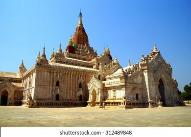 Ananda Phaya Temple in Bagan,  Myanmar (Burma)