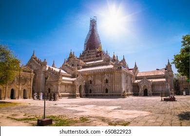 Ananda temple in Old Bagan, Myanmar. (Burma)