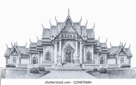 The Ananta Samakhom Throne Hall on Thai banknote of 10 Thai baht. Thai currency banknote of Thailand, baht is national currency in Thailand. Close Up UNC Uncirculated - Collection.