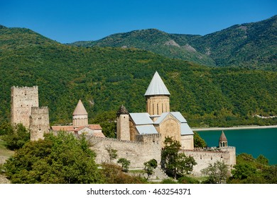 Ananuri ancient church castle in georgia