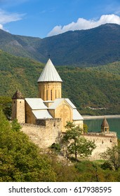 Ananuri Castle is located about 70 kilometers from Tbilisi. Its UNESCO World Heritage Site.