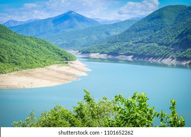 Ananuri Lake in Georgia