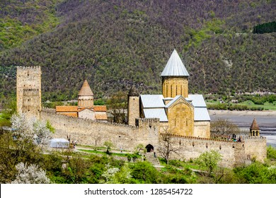 Ananuri Monastery in the Caucasus Mountains in Georgia