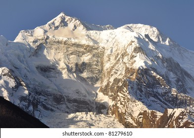 Anapurna III peak 7555 m. Nepal