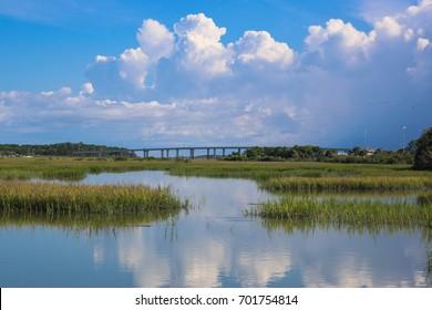 Anastasia State Park in Saint Augustine, Florida.
