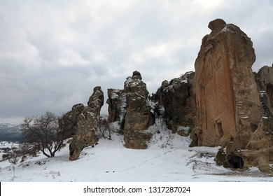 Anatolia's mysterious ancient Phrygians once inhabited this rock-hewn valley (Turkish:Frig Vadisi), which runs haphazardly past Eskisehir, Kutahya and Afyonkarahisar provinces of Turkey.
