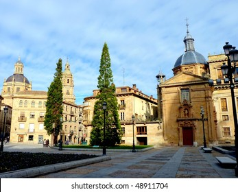 Anaya Palace in Salamanca, Spain