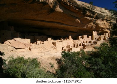 The Ancestral Puebloan archaeological sites in Mesa Verde National Park, Colorado