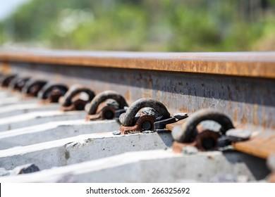 Anchor rail equipment.