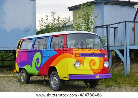 c4a9b2d66d ANCHORAGE AK 25 JUNE 2016 Vintage Stock Photo (Edit Now) 464780486 ...