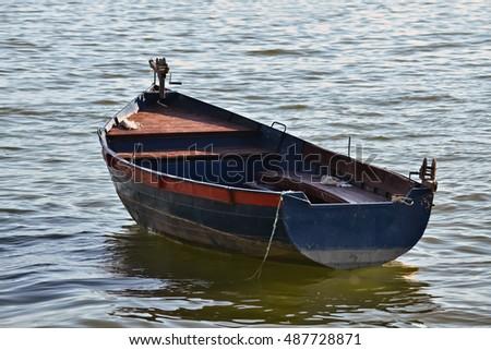 rowboat Vintage plastic