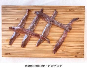 Santoña anchovies in virgin olive oil