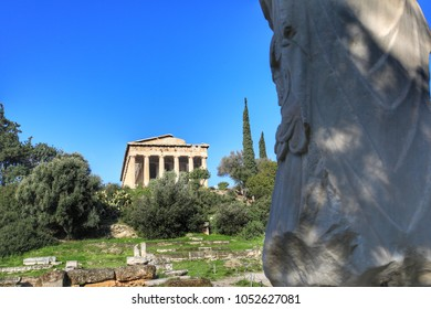 The Ancient Agora of Classical Athens is the best-known example of an ancient Greek agora, located to the northwest of the Acropolis.Athens is the capital and largest city of Greece.