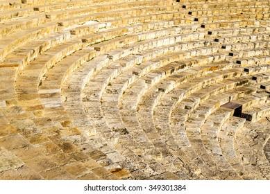 Ancient amphitheatre in Kourion - Cyprus