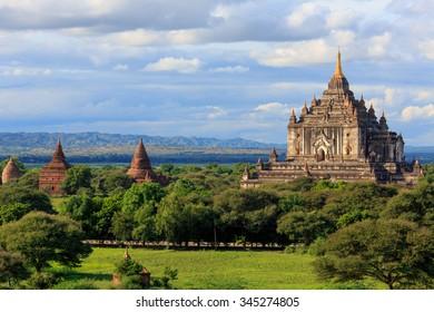 Ancient Ananda temple in Old Bagan, Myanmar