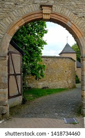 Ancient arch, Steinfeld Abbey, Germany